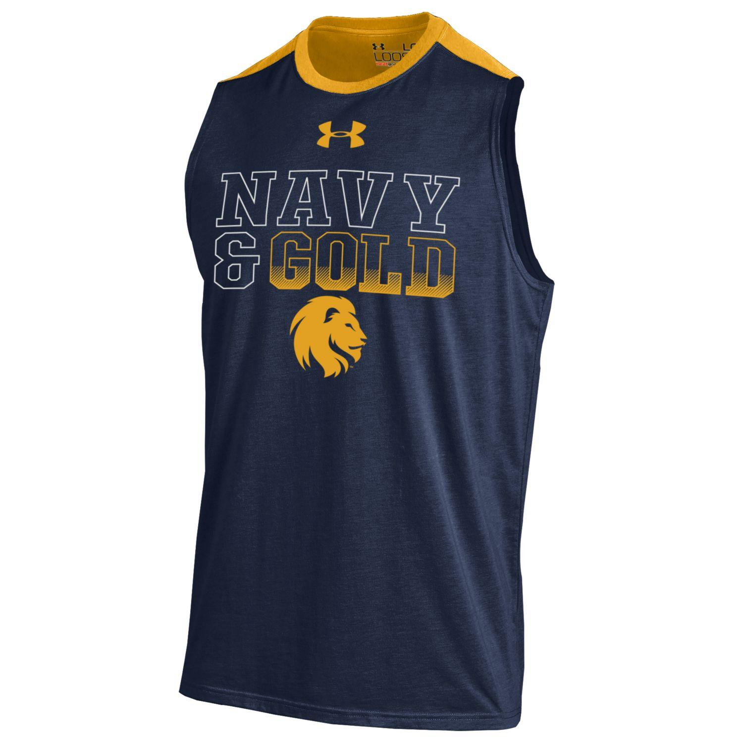 Image For Navy & Gold Tank