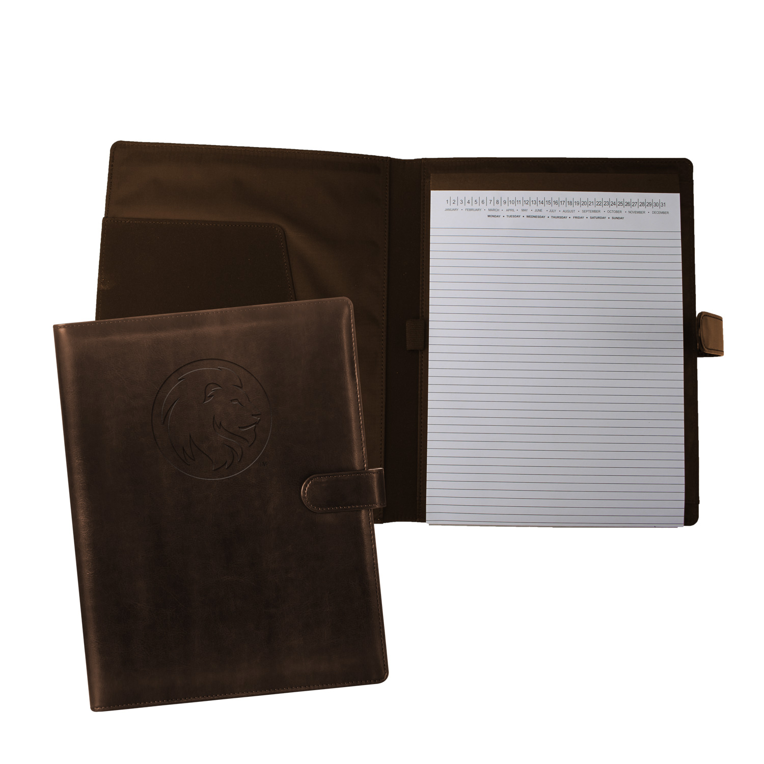 Image For Leather Pad Folio
