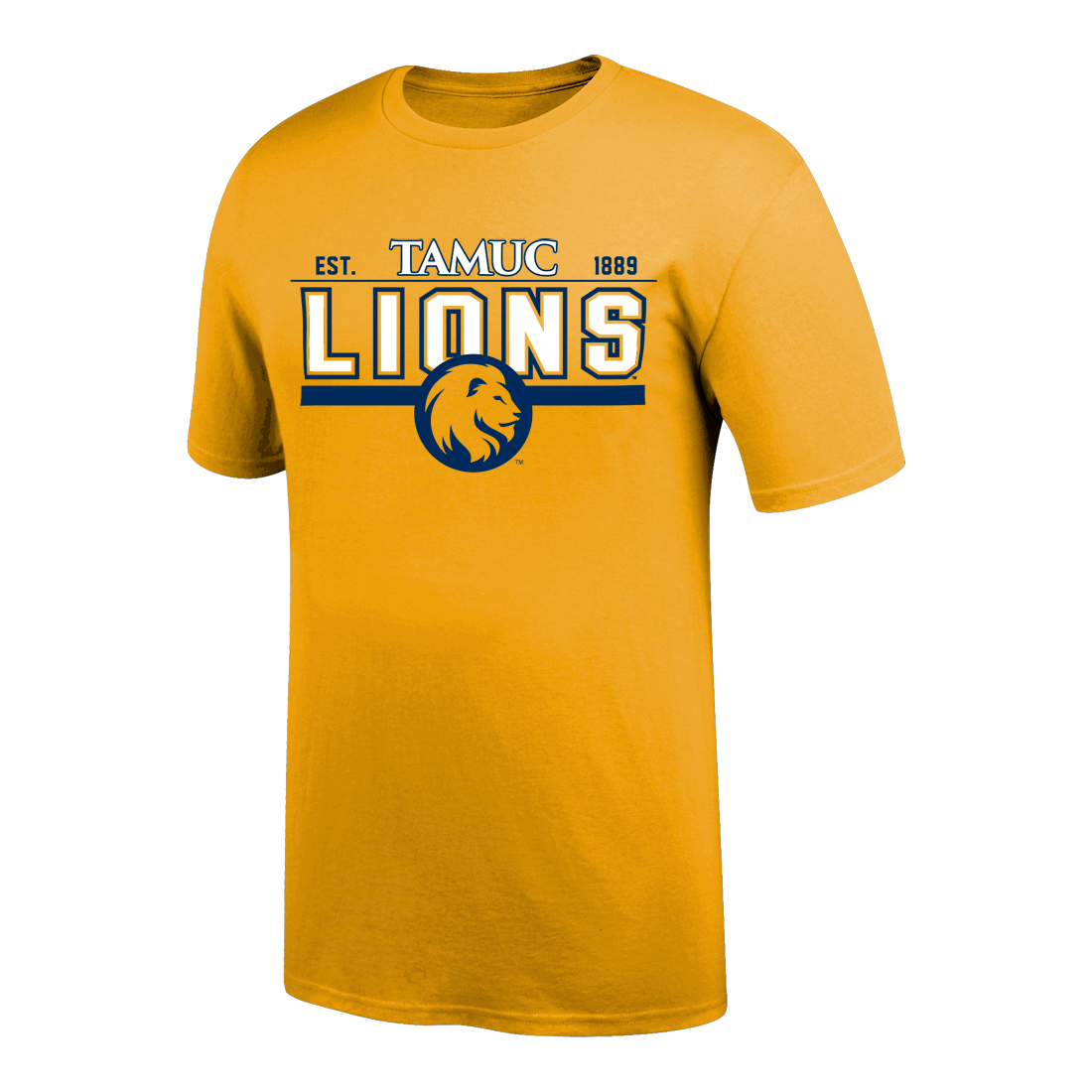 Image For Gold TAMUC Tee