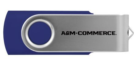 Cover Image For Swivel USB Thumb Drive