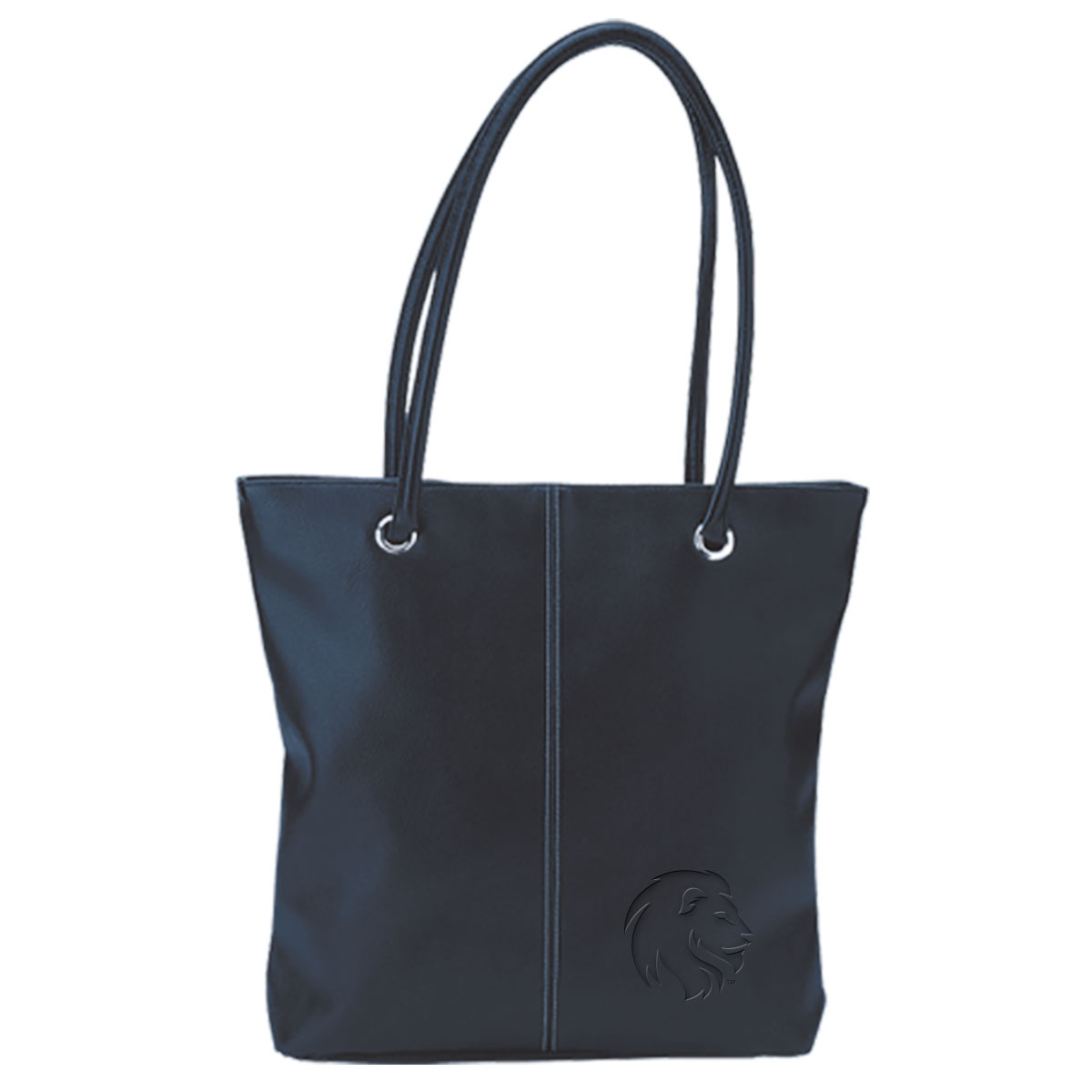 Image For Navy Lamis Lion Tote