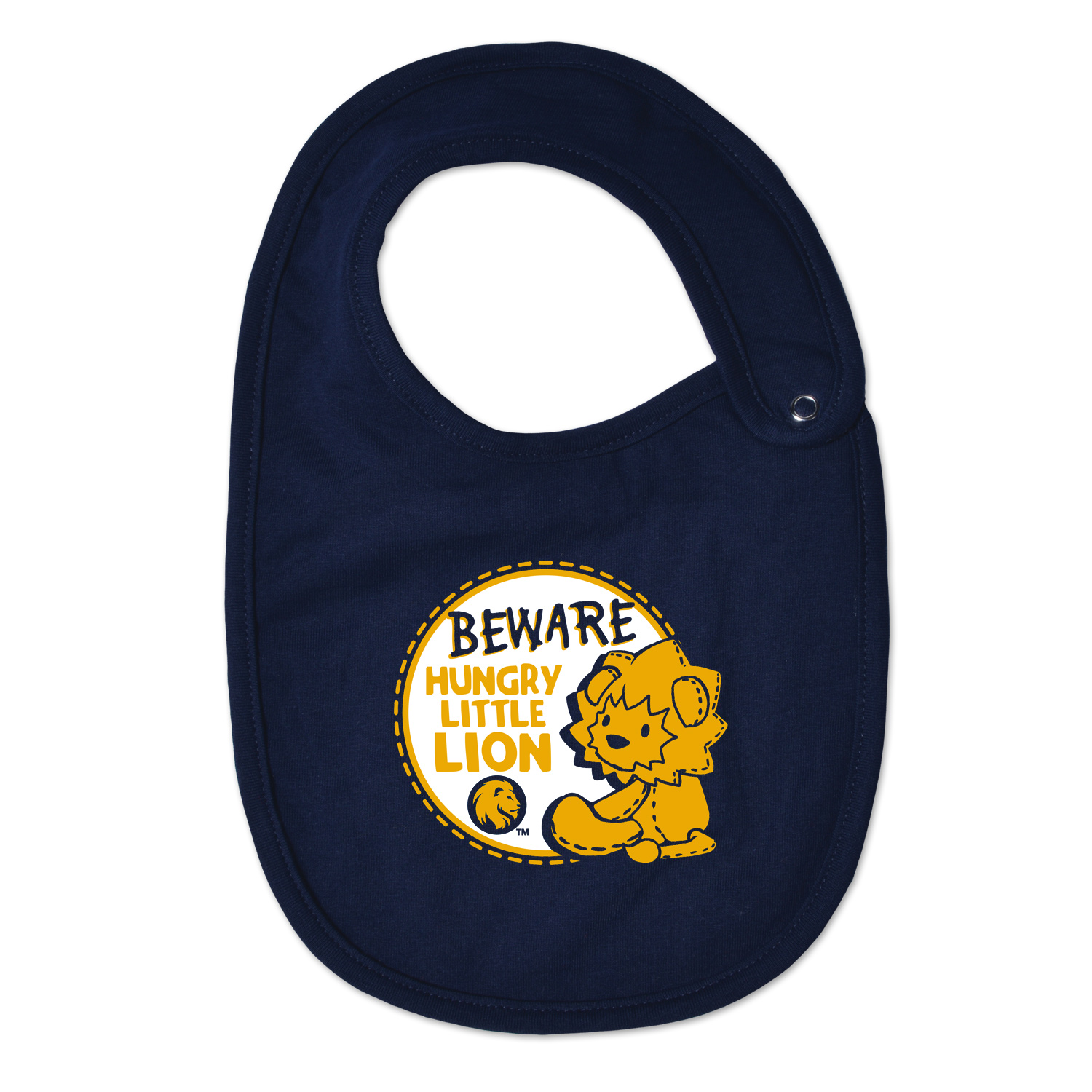Image For Hungry Lion Bib