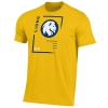 Image for Under Armour Charged Cotton Tee - Gold