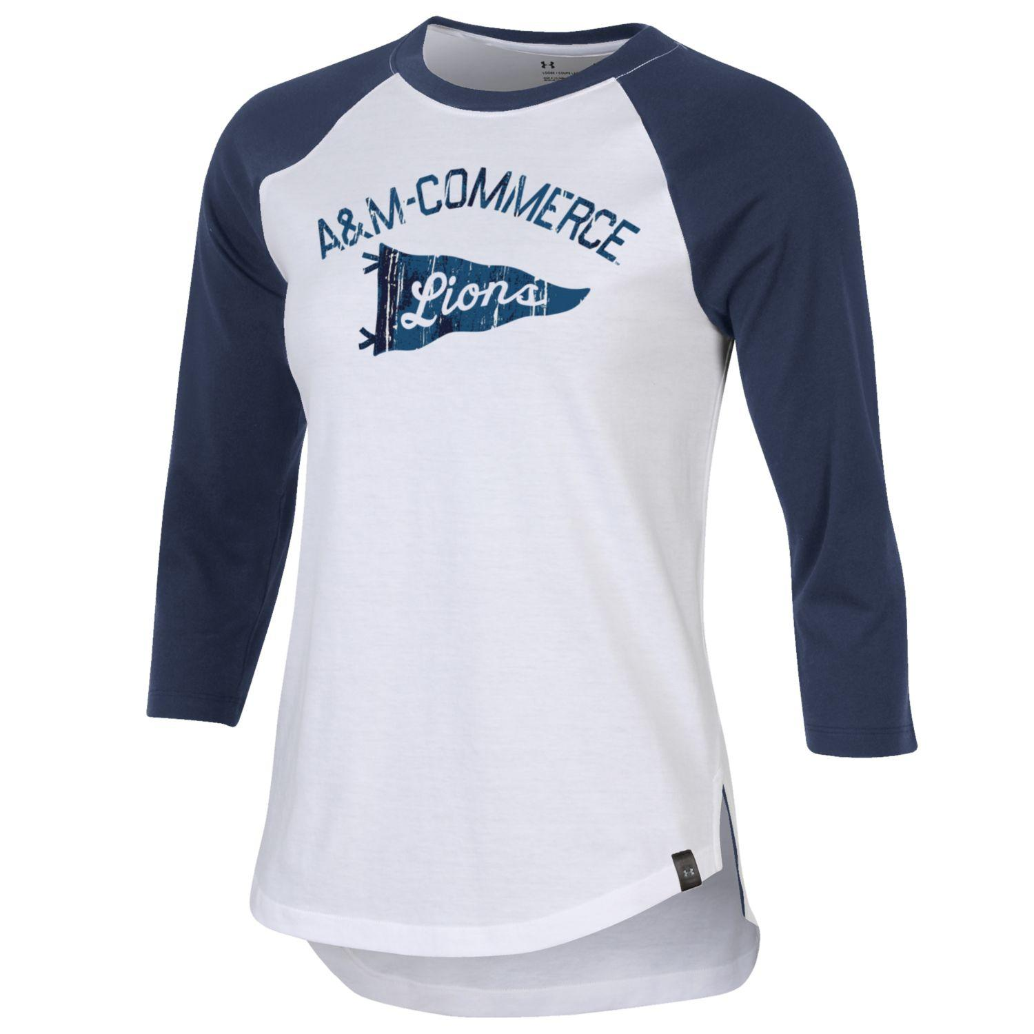 Cover Image For UA Ladies Performance Cotton Baseball Tee