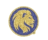 Image for Lion Glitter Auto Emblem