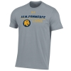 Image for UA Performance Cotton Tee-Steel Heather
