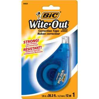 Image For CORRECTION TAPE-WITEOUT