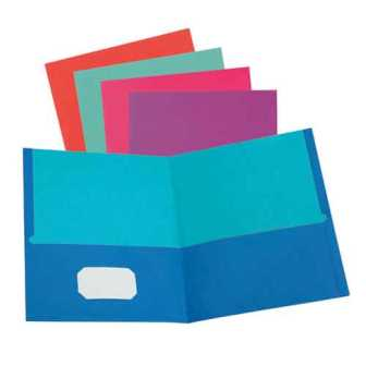 Image For 2 Pocket Folder