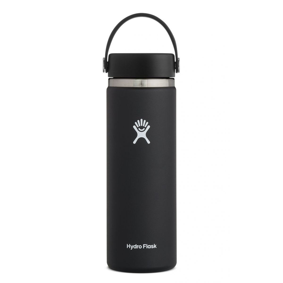 Image For HYDRO FLASK 20 OZ WIDE MOUTH FLEX SIP LID BLACK
