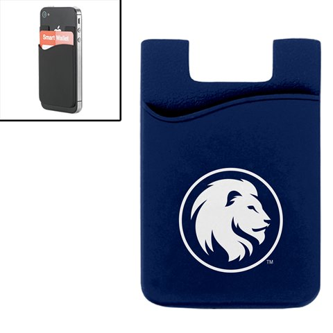Image For SILICONE MEDIA WALLET NAVY