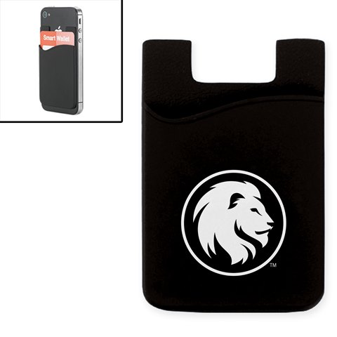 Image For SILICONE MEDIA WALLET BLACK