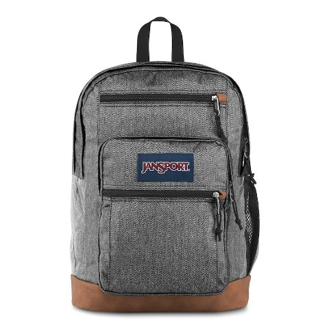 Image For BACKPACK-COOL STUDENT GREY LETTERMAN