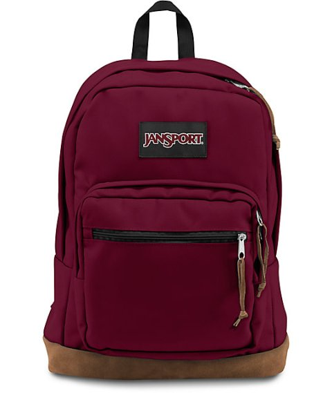 Image For BACKPACK RIGHT PACK-Russet Red