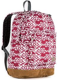 Image For BACKPACK-SUEDE-IKAT