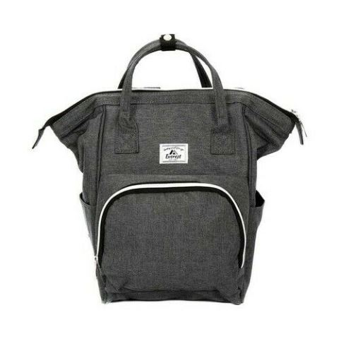 Image For BACKPACK HANDBAG MINI GRAY