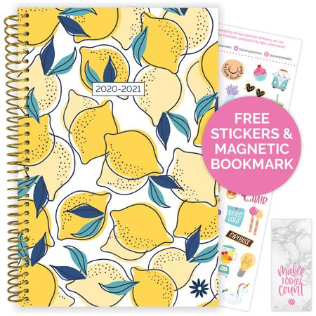 Image For BLOOM PLANNER AY20-21 LEMONS
