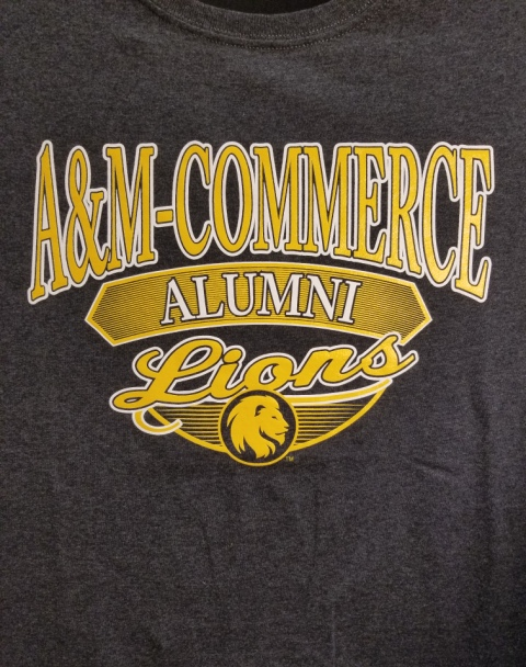 Image For Charcoal Alumni Tee