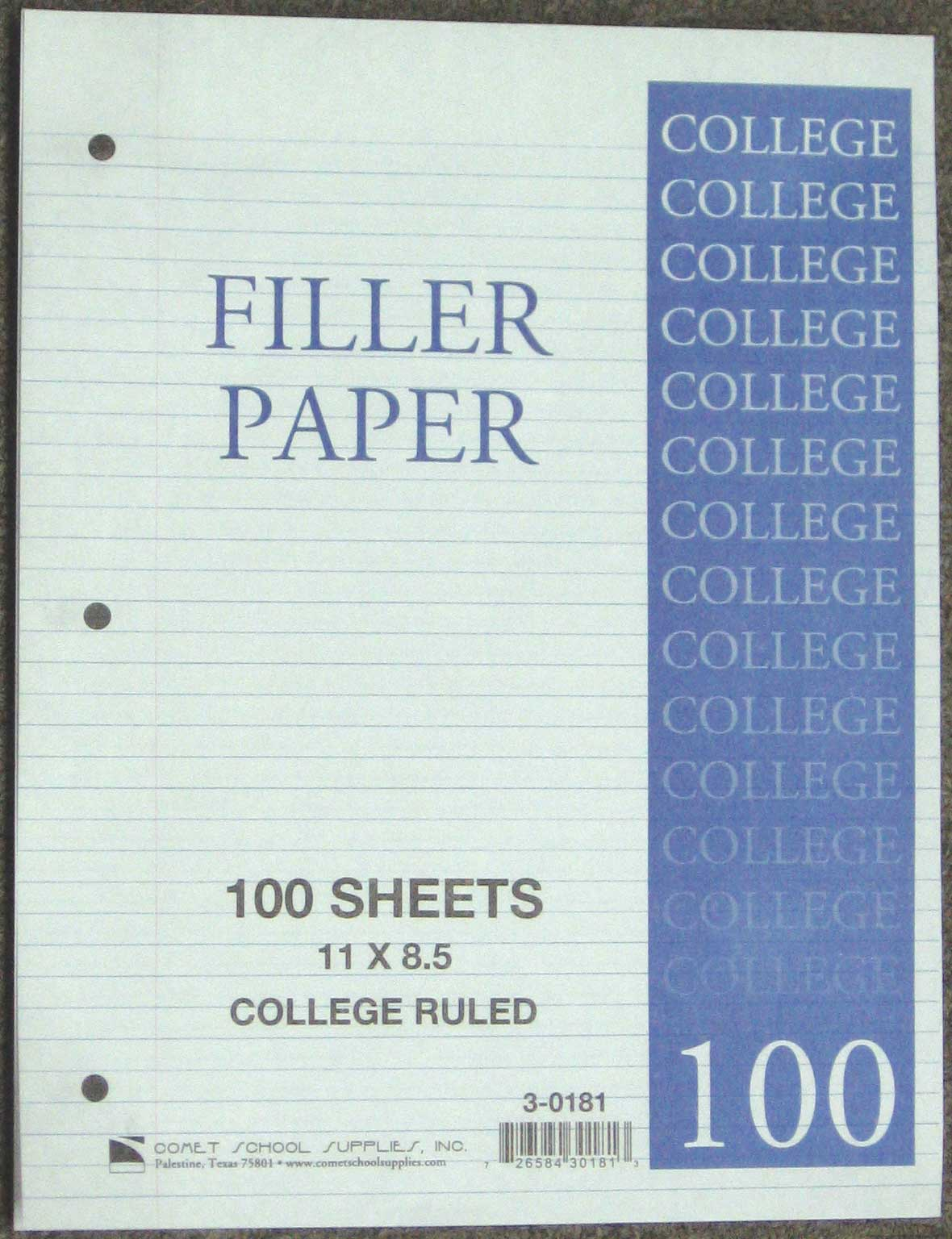 Image For PAPER-FILLER-CR-100SHT