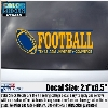 Image for Football Decal